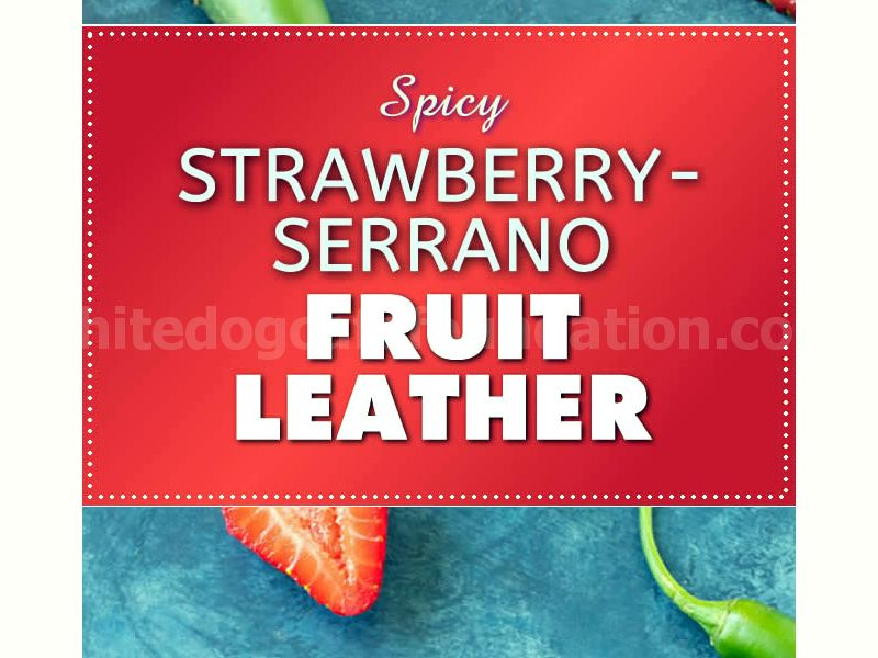 Strawberry-Serrano Fruit Leather - Recipe
