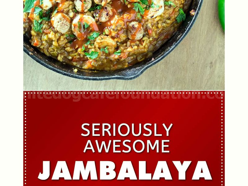 Seriously Awesome Jambalaya Recipe - Madness Style - Recipe