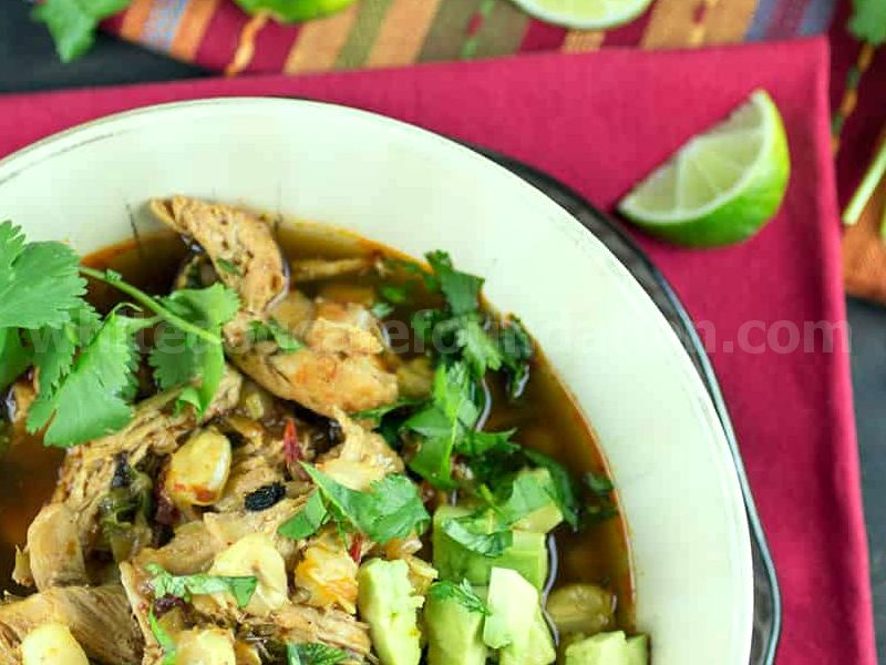 Classic Mexican Chicken Posole