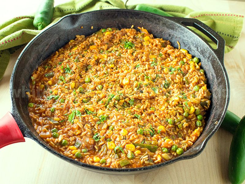 Homemade Mexican Rice Recipe