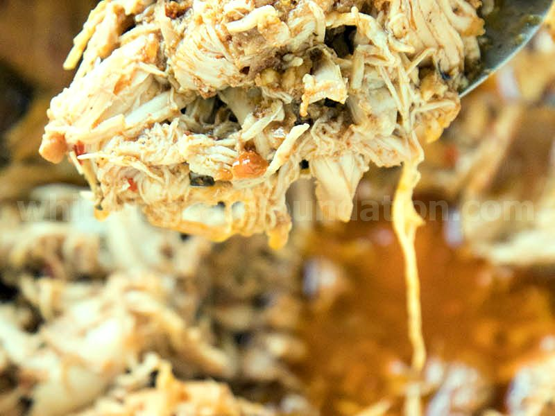 The Juiciest Shredded Chicken - Recipe