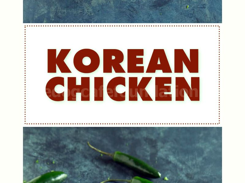 Korean Chicken - Recipe | ChiliPepperMadness.com #chicken #recipe #KoreanChicken #spicyfood