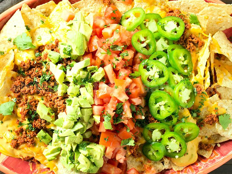 The Original Mikes Late Night Nachos - Recipe