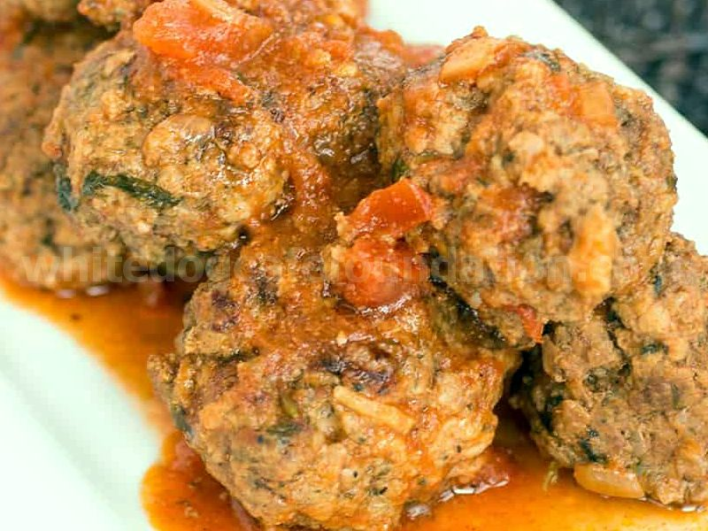 Spicy Italian Meatballs