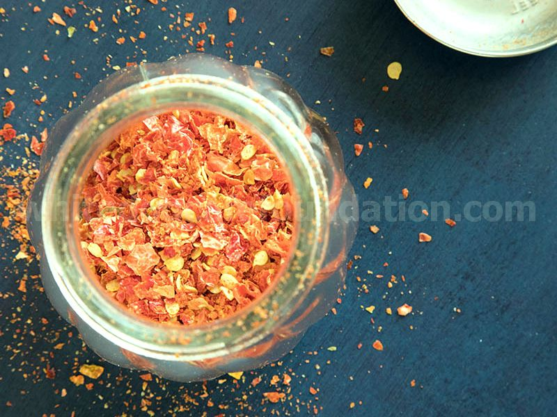 How to Make Homemade Chili Flakes - Recipe