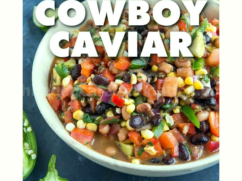 The Ultimate Cowboy Caviar - Cowboy Caviar is a vibrant salsa-bean salad combo that is perfect for any party. Made with fresh ingredients, this version kicks it up a notch with extra jalapeno peppers and additional spices that make it better than any I